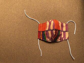 e133-アフリカ布マスク厚手タイプの画像