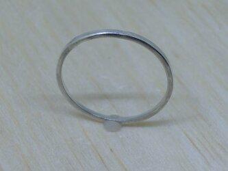 純銀(Ag) 角形リング 各サイズ【#5~23】までの画像