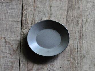 楕円5寸皿/グレーの画像