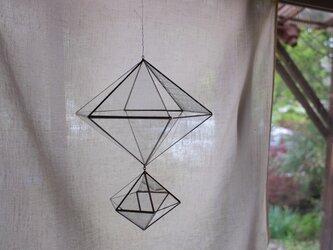 ガラスのオーナメント ヒンメリ 1の画像