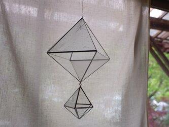 ガラスのオーナメント ヒンメリ 2の画像