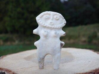 【角偶】S/鹿角から削り出した人形(ひとがた)/お守りの画像