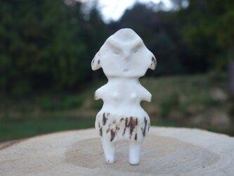 【角偶】X/鹿角から削り出した人形(ひとがた)/お守りの画像