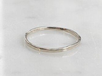 "3ColorGold Ring ""WhiteGold【S】""SRC2813の画像"