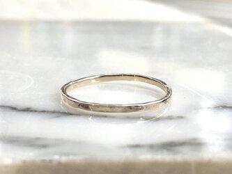 "3ColorGold Ring ""YellowGold【S】""SRC2813の画像"