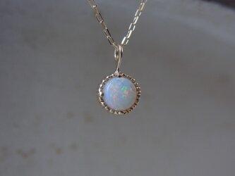 K10YGオパールのネックレスの画像