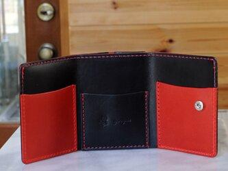 コンパクトな3つ折り財布 No.3 ブッテーロの画像