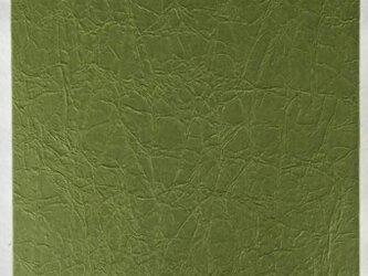 御朱印帳 A6判10,8×15,1㎝ 手もみ松葉色紙の画像