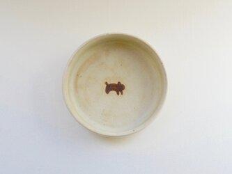 小皿 ( 深め ) - いぬの画像