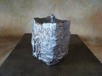 いぶし金彩香炉2の画像