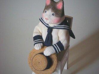 縮緬福猫 夏服 その十の画像