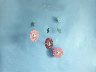 モビール「空花」その3の画像