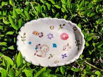 ざおうの森・豆皿の画像