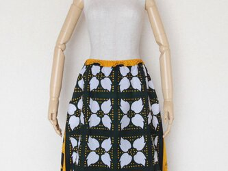 アフリカ布・カンガのバルーンスカートの画像