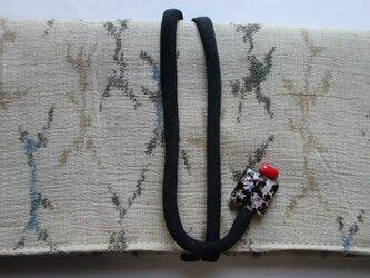 4848 綿の着物で作った和風財布・ポーチ #送料無料の画像