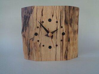 こがの木のかけ時計の画像