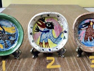 コロナ パクパク食べちゃう アマビエ小皿 スタンド付き 一個1600円の画像