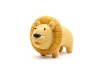 ライオン フィギュア/ミニチュア/人形 動物/ライオン インテリア/オブジェ/置物 ネコ科の画像