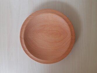 ブナのパン皿の画像