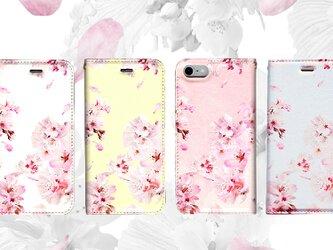 ★手帳型ケース★擬態ベタ(SAKURA)桜 iPhone12Pro〜選択可能 iPhoneケースの画像