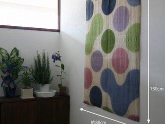 暖簾 のれん N-4185 本麻 半間 90x130cm / 70x130cmの画像