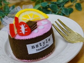 おままごと フェルトケーキの画像