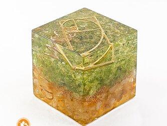 [受注製作]キューブオルゴナイト DOUBLE renew cube100800003の画像