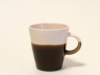 Mug cup S / ピンク×飴の画像