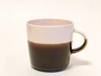 Mug cup M / ピンク×飴の画像