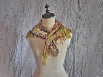手織り ネックチーフ 春夏の画像