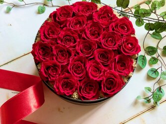 フラワーBOX LOVE ROSEの画像