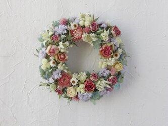 ramune color healing wreathの画像