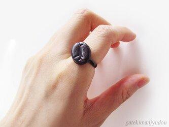 コーヒー豆の指輪の画像