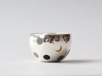 純銀おちょこ [  月夜  ]の画像