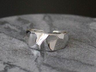 クリスタルCrystal ring silver925の画像