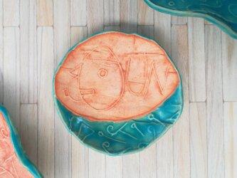 明るく、楽しく、美味しく!トルコマット小皿7 ターコイズブルーの画像