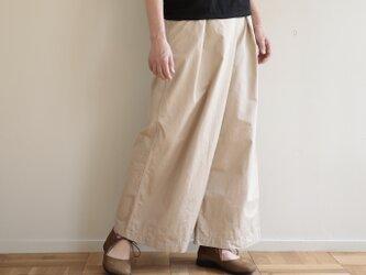 shiki pants / light beigeの画像