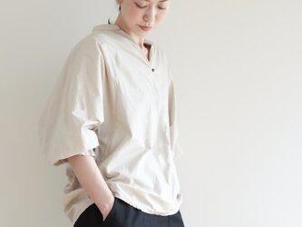 creampuff blouse / light beigeの画像