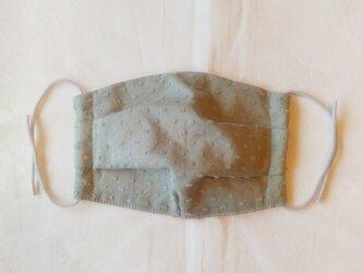 布マスク エチケットマスク c&s ドットミニヨン ミンティ 大人用の画像