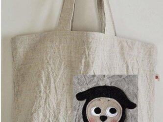 ハルさま 特注:ハンゾーお買い物バッグの画像