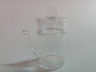 液ダレしない醤油差し(SPC-03 30ml) ツマミ透明 高さ90mm Sサイズの画像
