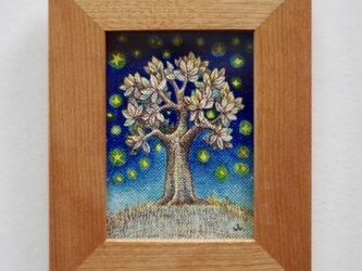 「木と星たち4」原画 の画像