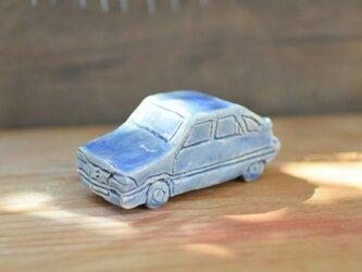 君の青い車 1の画像
