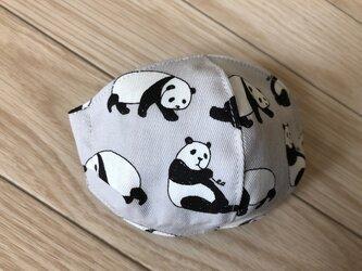 kidsマスク(パンダですが?)の画像