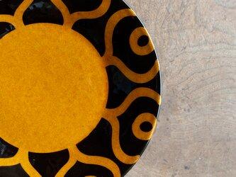 飴釉 八寸深皿(24cm) GNYAの画像