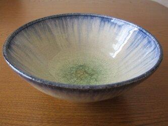 おふけ あおいろ 深鉢(中)の画像