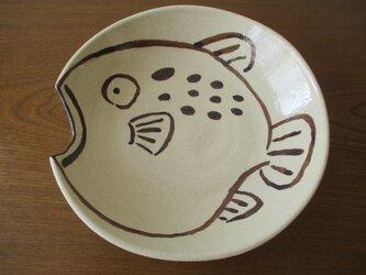 お魚 『ふぐ』 深皿の画像