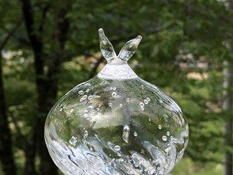 しずくペーパーウェイト ガラスの画像
