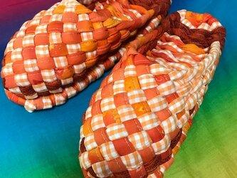 まこち様専用 オレンジミックスのヨコスカスリッパ!の画像