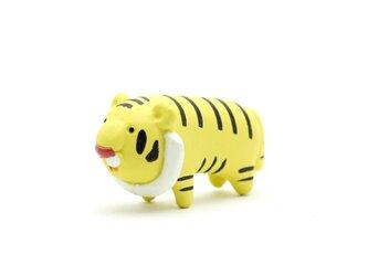 とら フィギュア/ミニチュア 動物/虎/トラ インテリア/オブジェ/置物の画像